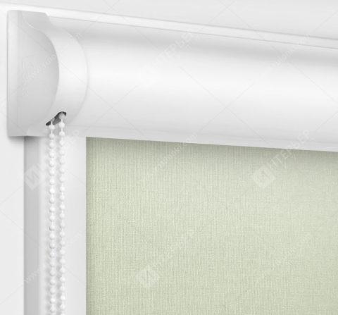 Рулонные кассетные шторы УНИ - Карина бежевый