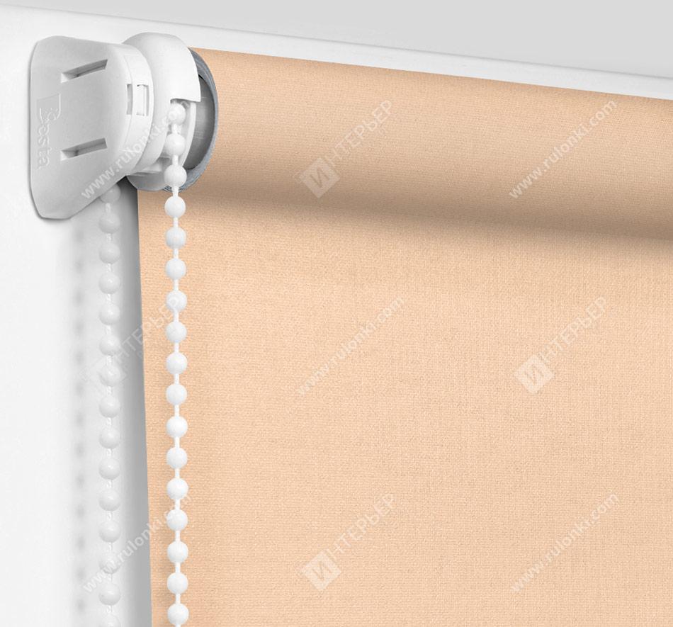 Рулонные шторы Мини - Карина персиковый