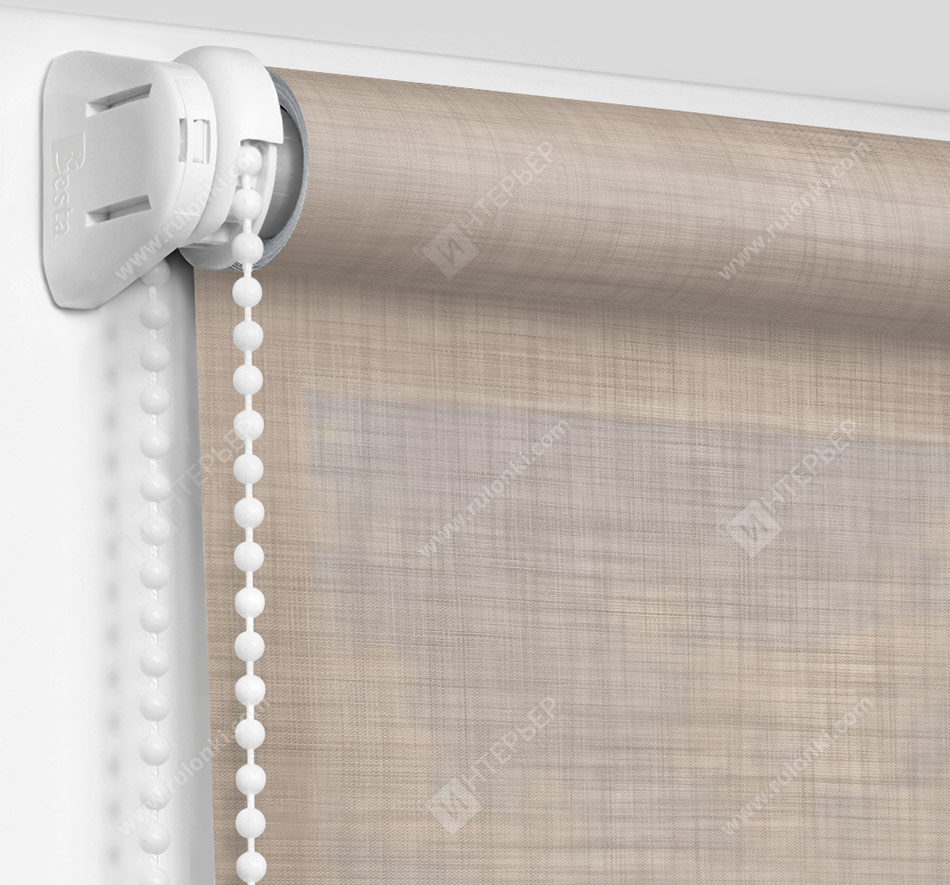 Рулонные шторы Мини - Анже светло-серый