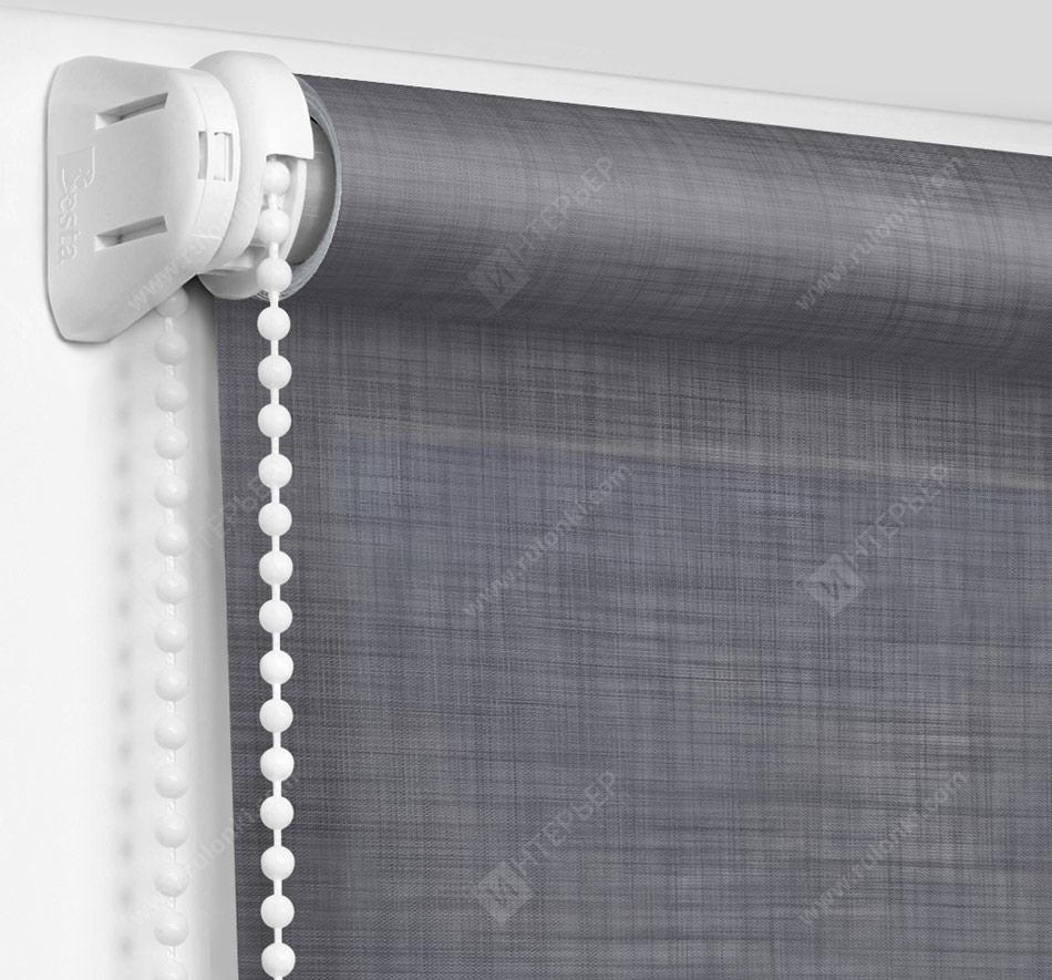 Рулонные шторы Мини - Анже темно-серый