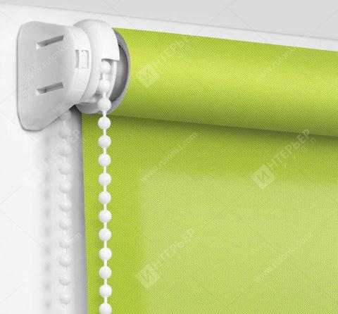 Рулонные шторы Мини - Аллегро перл зеленый