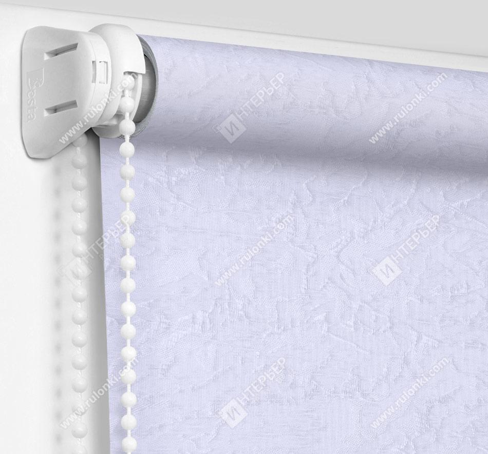 Рулонные шторы Мини - Шелк морозно-голубой