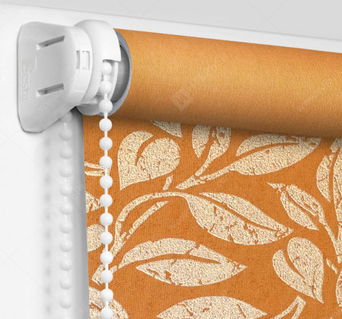 Рулонные шторы Мини - Лейси оранжевый