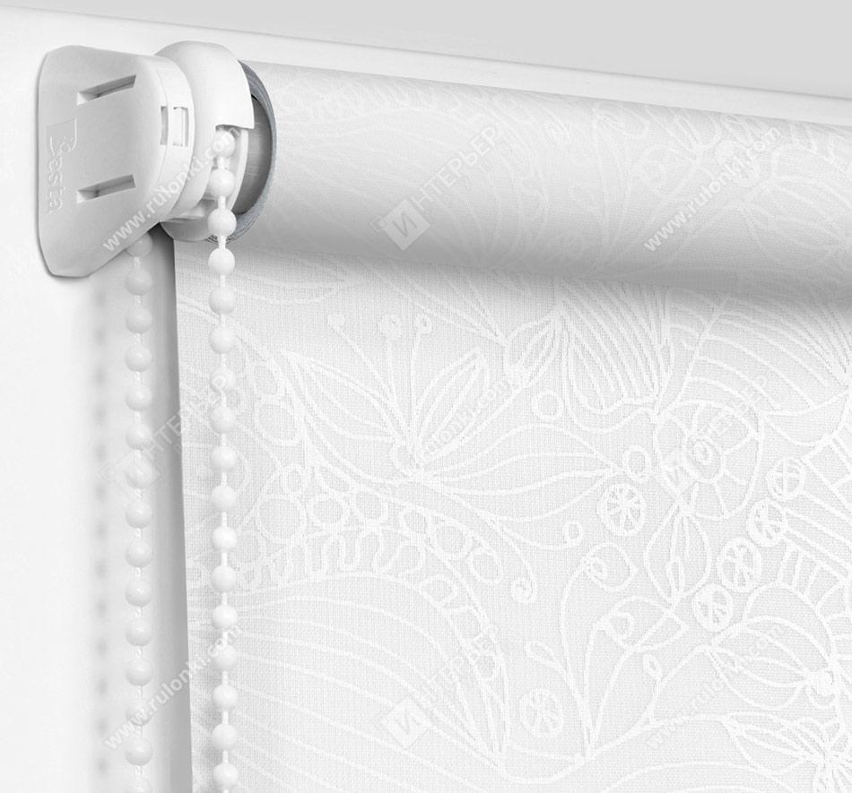 Рулонные шторы Мини - Прованс белый