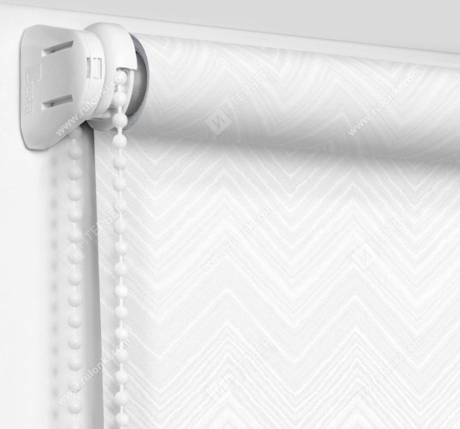 Рулонные шторы Мини - Шерни белый